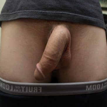 Huge Flaccid Cock Dangled
