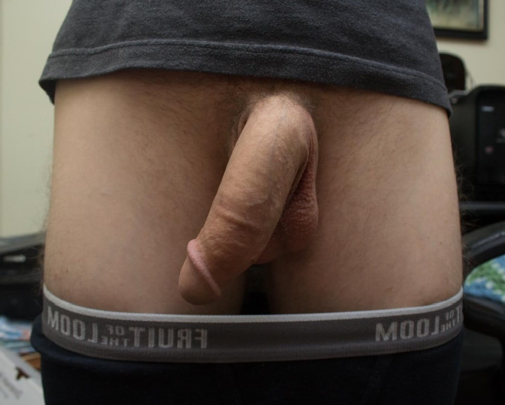 His huge soft cock