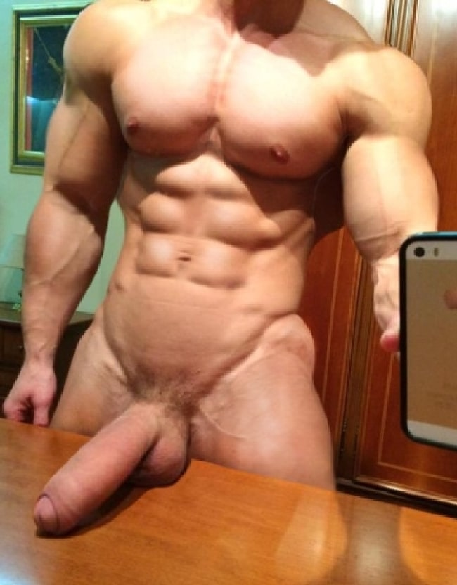 Hung Muscle Man