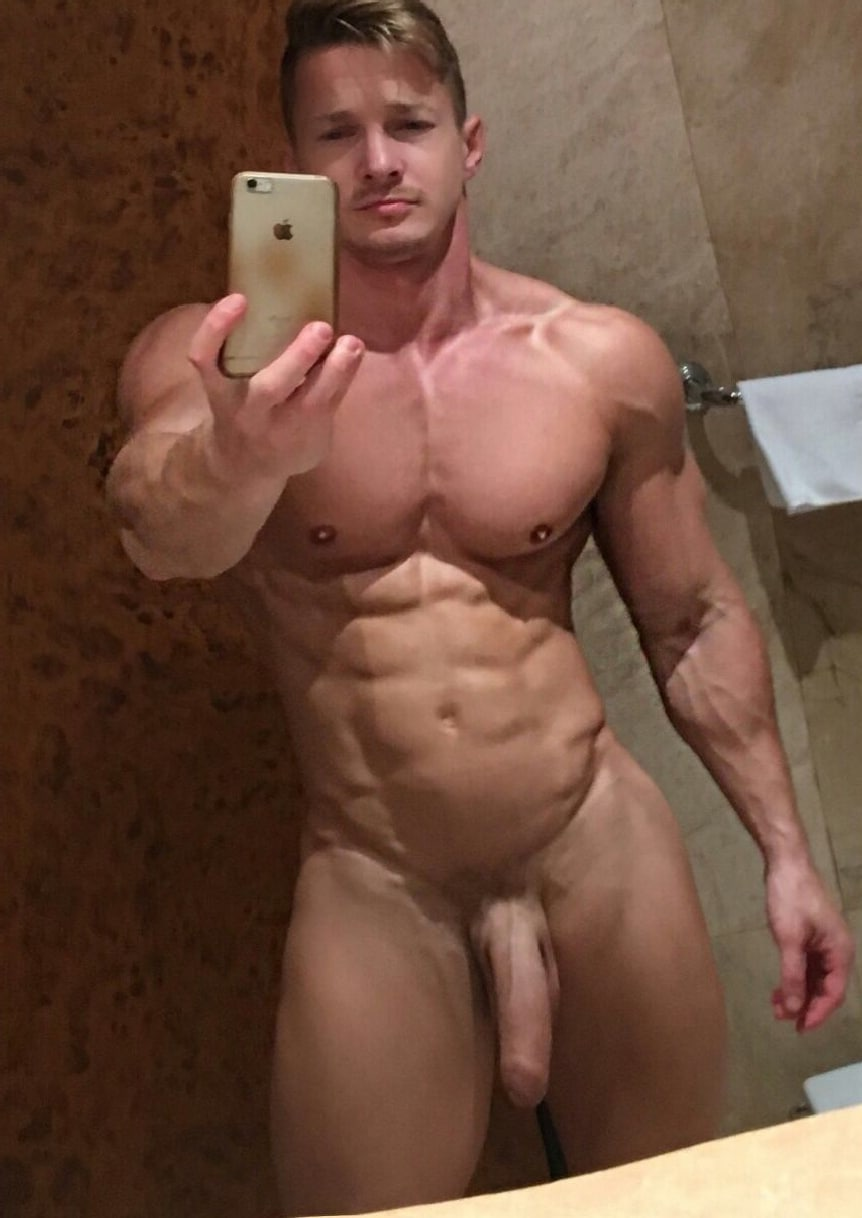 Muscle Man Big Cock